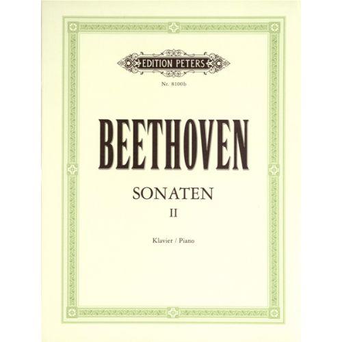 EDITION PETERS BEETHOVEN LUDWIG VAN - SONATAS VOL.2 - PIANO
