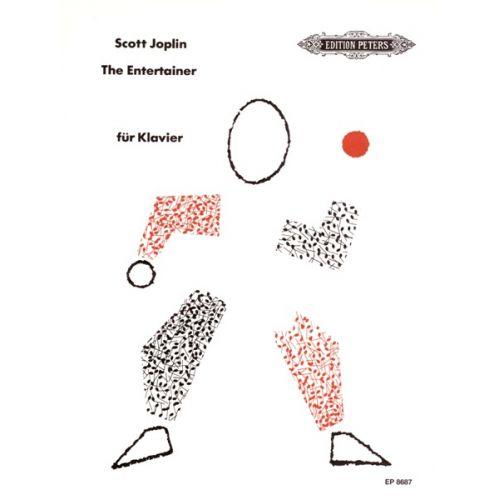 EDITION PETERS JOPLIN SCOTT - THE ENTERTAINER - PIANO