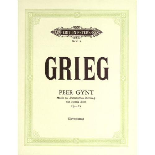 EDITION PETERS GRIEG EDVARD - PEER GYNT OP. 23 COMPLETE EDITION VOL. 18 - MIXED CHOIR (PER 10 MINIMUM)