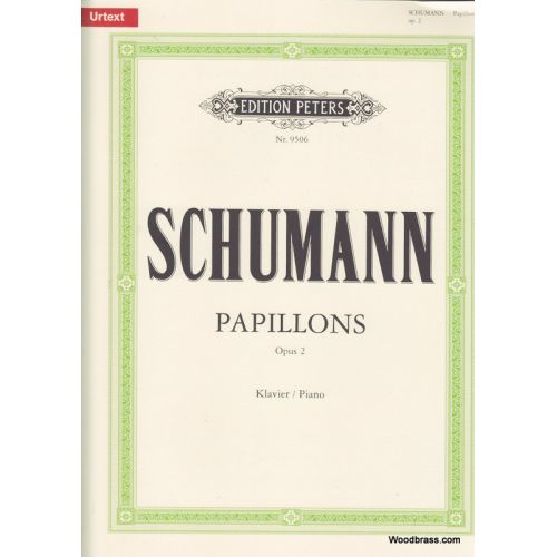 EDITION PETERS SCHUMANN ROBERT - PAPILLONS OP.2 - PIANO