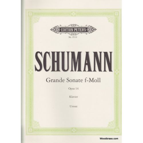 EDITION PETERS SCHUMANN R. - GRANDE SONATE OP. 14 - PIANO