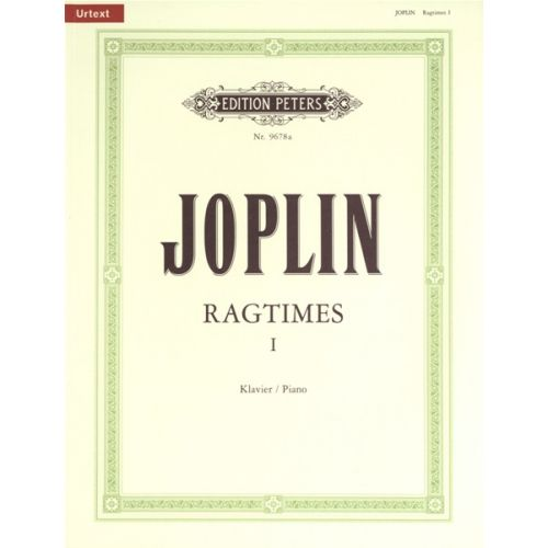 EDITION PETERS JOPLIN SCOTT - RAGTIMES VOL.1 - PIANO