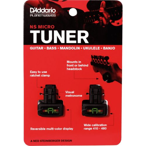 D'ADDARIO AND CO PACK OF 2 TUNERS CLAMP