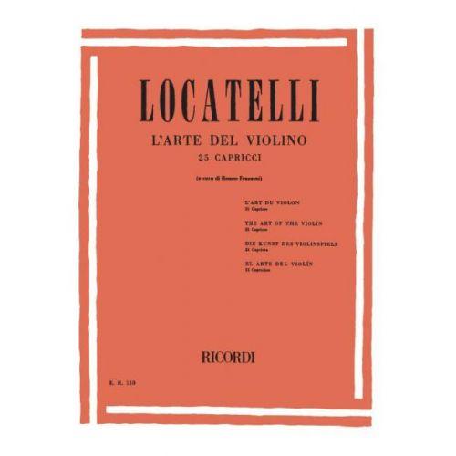 RICORDI LOCATELLI P. - ARTE DEL VIOLINO - VIOLON