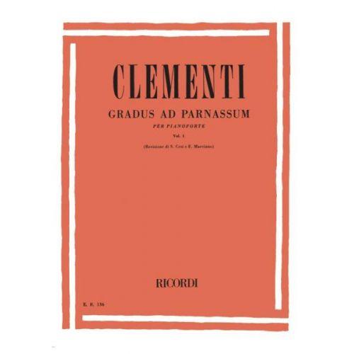 RICORDI CLEMENTI M. - GRADUS AD PARNASSUM VOL I - PIANO