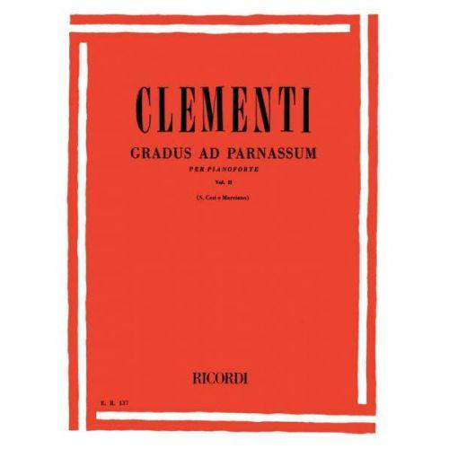RICORDI CLEMENTI M. - GRADUS AD PARNASSUM VOL II - PIANO
