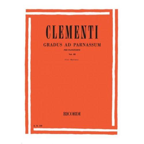 RICORDI CLEMENTI M. - GRADUS AD PARNASSUM VOL III - PIANO