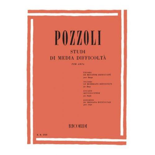 RICORDI POZZOLI E. - STUDI DI MEDIA DIFFICOLTA - HARPE