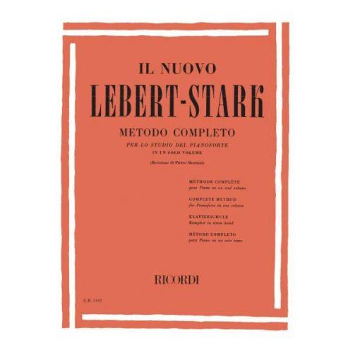 RICORDI LEBERT/STARK - NUOVO LEBERT STARK METODO COMPLETO IN UN SOLO VOLUME - PIANO