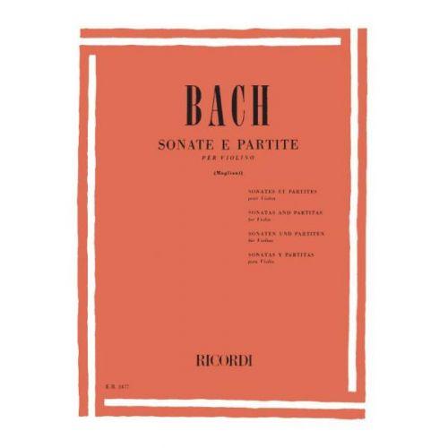 RICORDI BACH J.S. - 6 SONATA E PARTITE BWV 1001-1006 - VIOLON