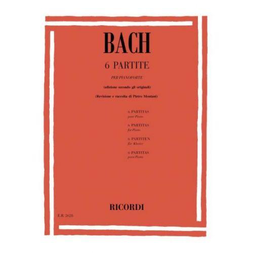 RICORDI BACH J.S. - 6 PARTITE BWV 825-830 - PIANO