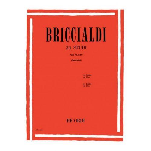 RICORDI BRICCIALDI G. - 24 STUDI PER FLAUTO
