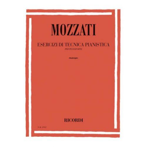 RICORDI MOZZATI A. - ESERCIZI DI TECNICA PIANISTICA - PIANO
