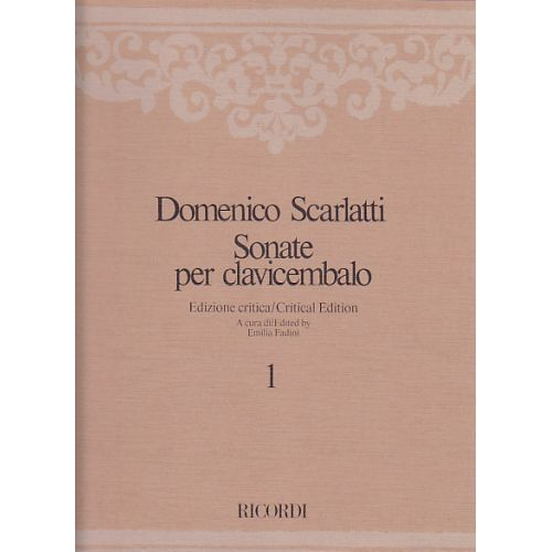 RICORDI SCARLATTI DOMENICO - SONATE PER CLAVICEMBALO - VOL. 1