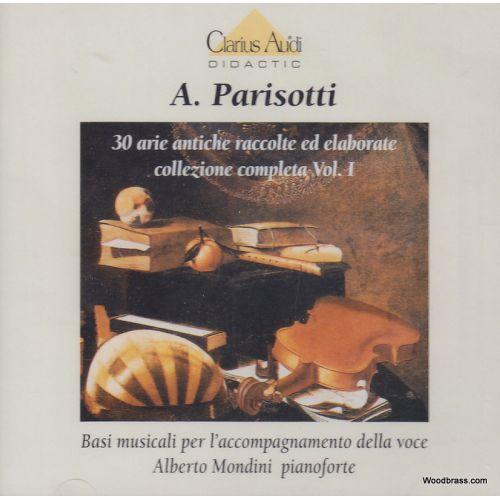 RICORDI PARISOTTI A. - 30 ARIE ANTICHE VOL.1 - CD SEUL