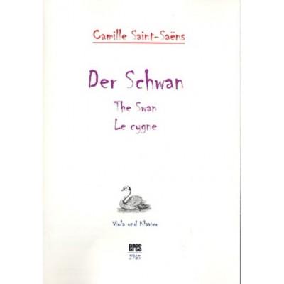 ERES VERLAG SAINT-SAENS C. - LE CYGNE - ALTO & PIANO