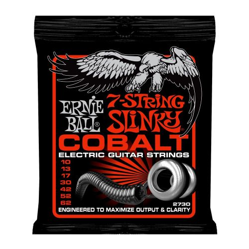 ERNIE BALL COBALT SLINKY 7 10-62 SKINNY TOP HEAVY BOTTOM