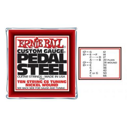 ERNIE BALL PEDAL STEEL GUITAR C6 SET