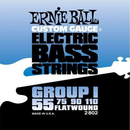ERNIE BALL ELECTRIC BASS STRINGS 55-110 2802