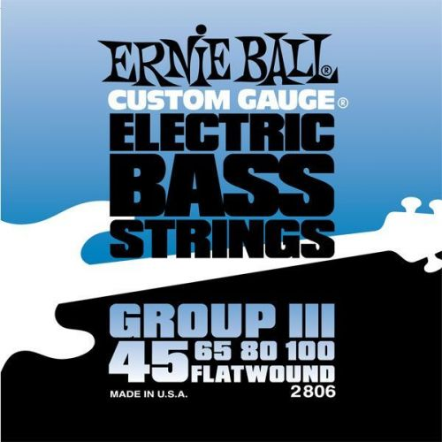 ERNIE BALL ELECTRIC BASS STRINGS 45-100 2806