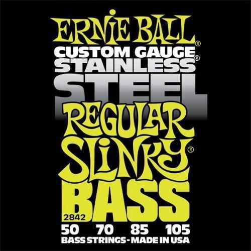 ERNIE BALL SAITEN BASS REGULAR SLINKY BASS STAINLESS STEEL 50-105 2842
