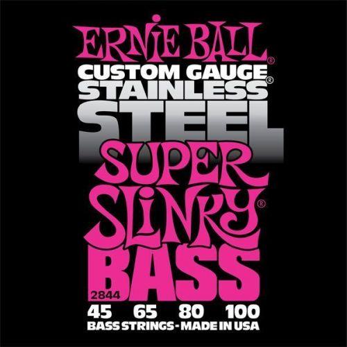 ERNIE BALL SUPER SLINKY BASS STAINLESS STEEL 45-100 2844