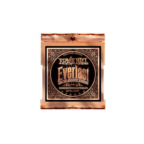 ERNIE BALL ERNIE BALL EP02550 EVERLAST 10-50 XLIGHT PHOSPHOR BRONZE