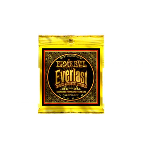 ERNIE BALL EP02556 EVERLAST BRONZE 80/20 12-54 MEDIUM LIGHT