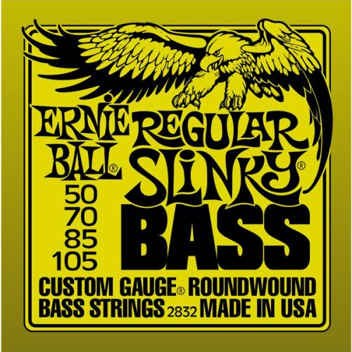 ERNIE BALL PACK 2832 REGULAR SLINKY 50 105 (4 STRINGS)