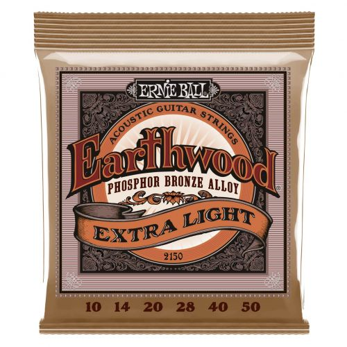ERNIE BALL 2150 EARTHWOOD 10-50 PHOSPHORE BRONZE