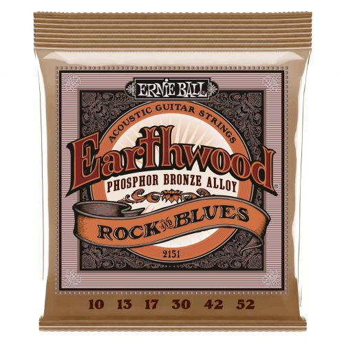 ERNIE BALL 2151 EARTHWOOD 10-52 PHOSPHORE BRONZE