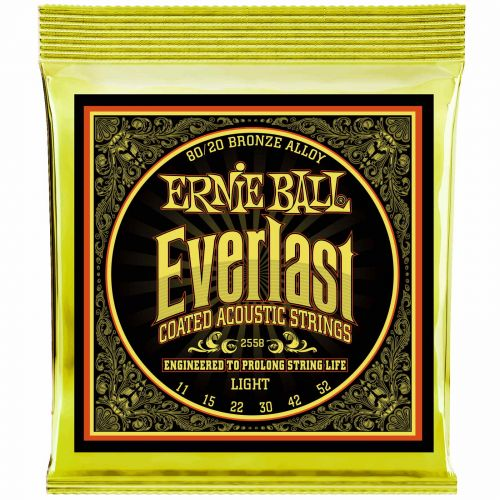 ERNIE BALL EP02558 EVERLAST BRONZE 80/20 11-52 LIGHT
