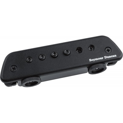 SEYMOUR DUNCAN PICKUP ROSACE MAG MIC ACTIVE MIC, BLACK