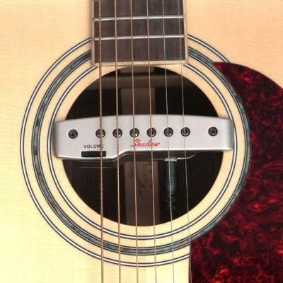 SHADOW GUITAR MAGNETIC MICROS DOUBLE ACTIVE FOR ROSE, GOLD