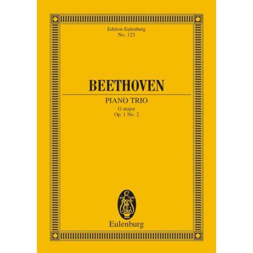 EULENBURG BEETHOVEN LUDWIG VAN - PIANO TRIO NO. 2 G MAJOR OP. 1/2 - PIANO TRIO
