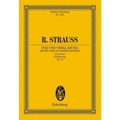 EULENBURG STRAUSS RICHARD - DEATH AND TRANSFIGURATION OP. 24 - ORCHESTRA