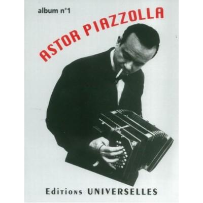 UNIVERSELLES ASTOR PIAZZOLLA - ALBUM N°1 - ACCORDION