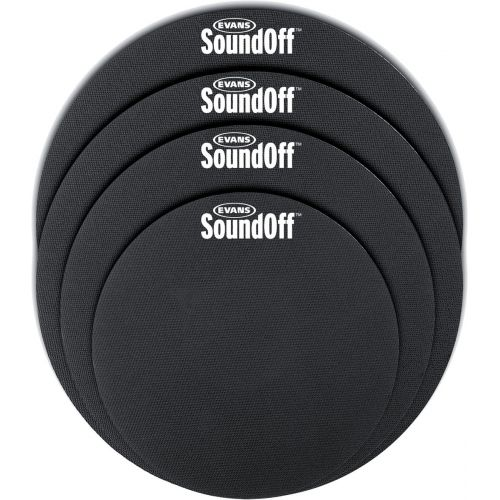 EVANS SO2346 SOUND OFF DÄMPFER SET - STANDARD SIZES 12