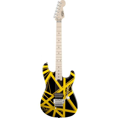 EVH STRIPED SERIES BLACK/YELLOW