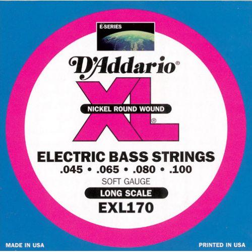D'ADDARIO AND CO EXL170 45 65 80 100