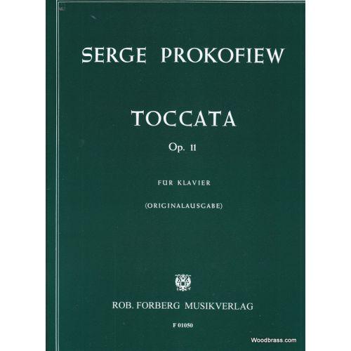 FORBERG PROKOFIEV SERGEI - TOCCATA OP.11 - PIANO