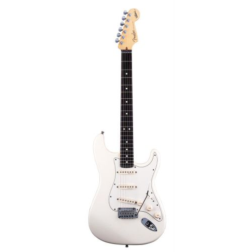 FENDER STRATOCASTER AMERICAN ARTIST SIGNATURE JEFF BECK OLYMPIC WHITE