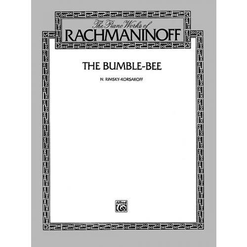 ALFRED PUBLISHING RIMSKY-KORSAKOV NICOLAI - FLIGHT OF THE BUMBLE BEE - PIANO SOLO
