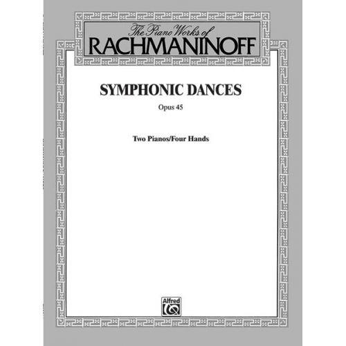 ALFRED PUBLISHING SYMPHONIC DANCES - PIANO DUET