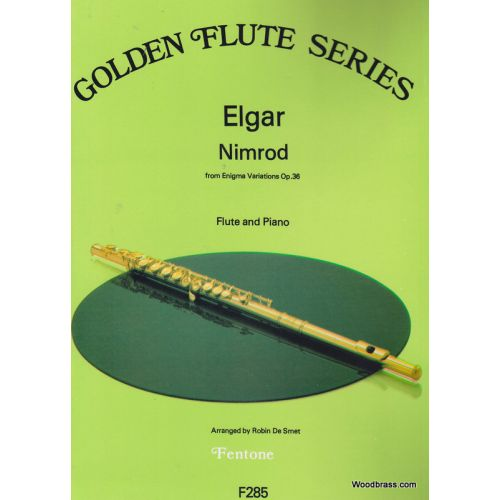 FENTONE MUSIC ELGAR E. - NIMROD FROM ENIGMA VARIATIONS OP.36 - FLUTE & PIANO