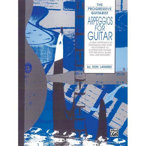 ALFRED PUBLISHING LATARSKI DON - ARPEGGIOS FOR GUITAR - GUITAR