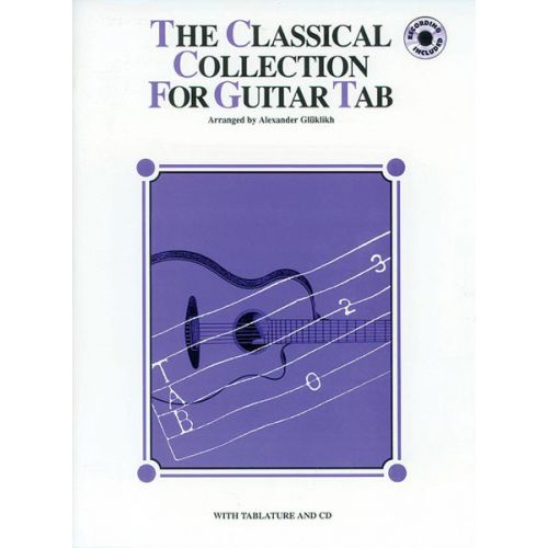 ALFRED PUBLISHING CLASSICAL COLLECTION + CD - GUITAR TAB