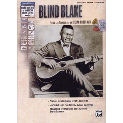 ALFRED PUBLISHING GROSSMAN STEFAN - BLIND BLAKE TAB +CD