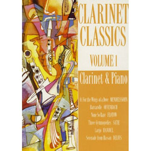 FENTONE MUSIC CLARINET CLASSICS VOL.1 - CLARINETTE, PIANO