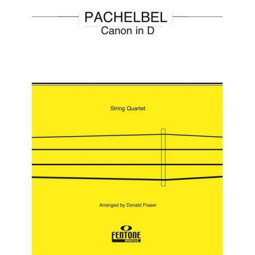 FENTONE MUSIC PACHELBEL J. - CANON IN D - STRING QUARTET